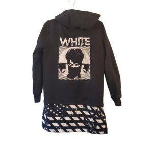 RARE Off Black sweatshirt hoodie men's medium